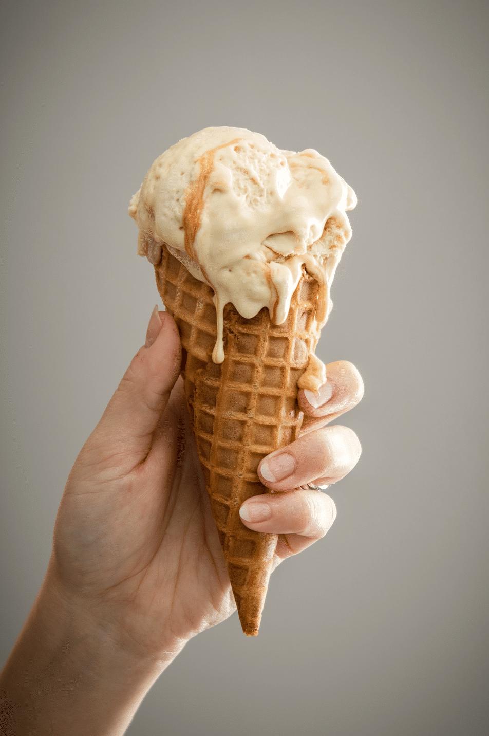 glace au miel glace été fraicheur idées glaces