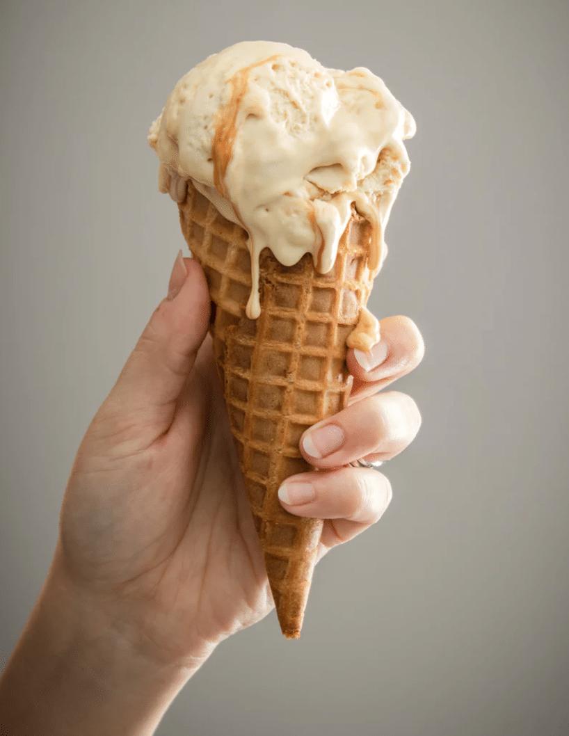 glace au miel glace fraicheur idées glace